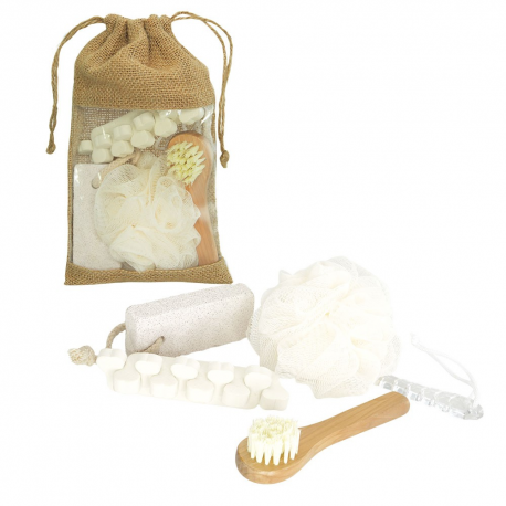 SET DE BAÑO BATH & BEAUTY 5